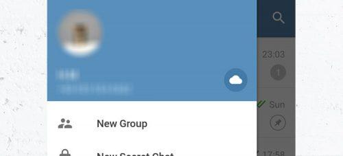 دسترسی به فضای ابری تلگرام